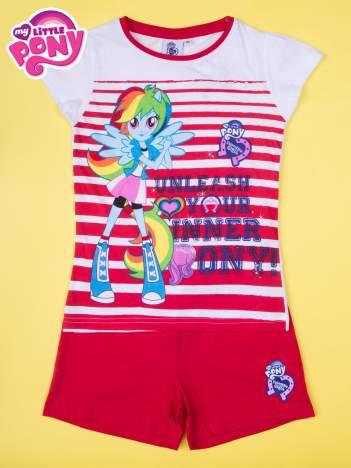 Czerwona piżama dla dziewczynki MY LITTLE PONY