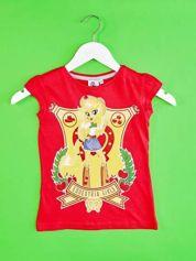 Czerwony t-shirt dla dziewczynki EQUESTRIA GIRLS