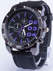 Dla Niego... Świetny sportowy zegarek inspirowany wyścigami GT - duży