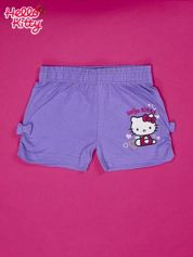 Fioletowe szorty dla dziewczynki HELLO KITTY