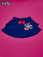 Granatowa spódnica dla dziewczynki FURBY