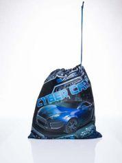 Niebieski plecak worek DISNEY Auta