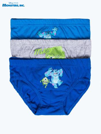 Bawełniane chłopięce majtki POTWORY I SPÓŁKA 3 szt