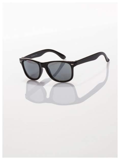 Dziecięce czarne okulary z klasyczną oprawką WAYFARER NERD z filtrami