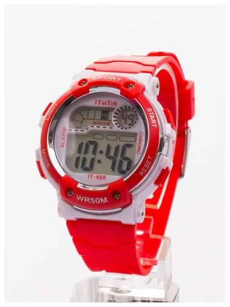 Dziecięcy zegarek sportowy wielofunkcyjny. Łatwy w obsłudze. Idealny dla dziecka.  Wodoodporny.