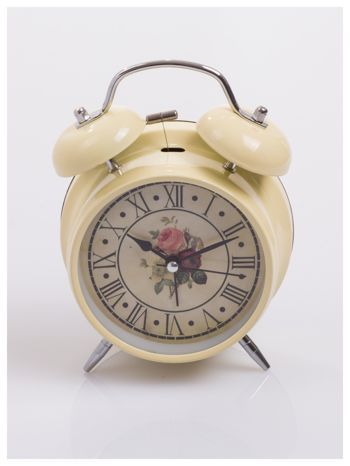 Elegancki i skuteczny :) BUDZIK zegarek stojący z lampką RETRO