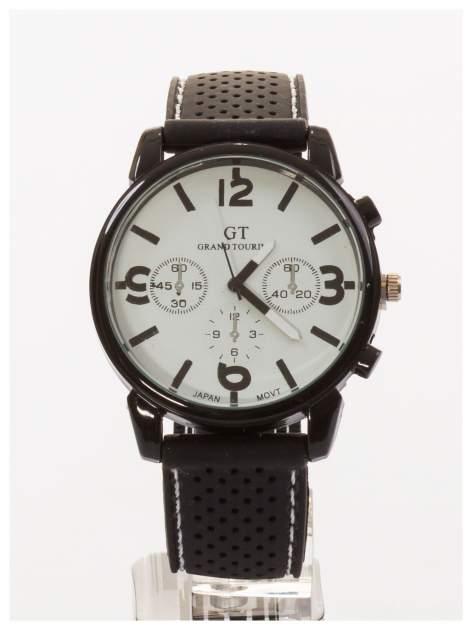 GT Męski sportowy zegarek na wygodnym silikonowym pasku
