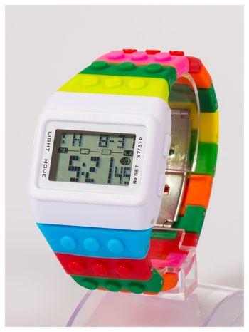 Kolorowy i modny elektroniczny zegarek unisex