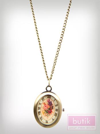 Naszyjnik- zegarek