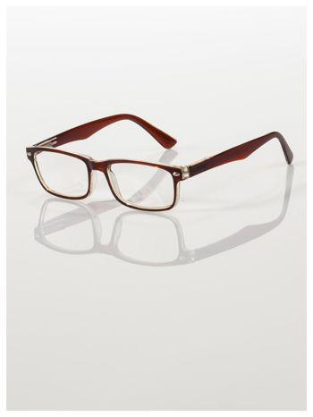 Okulary korekcyjne +3.0 D ,model WAYFARER do czytania z systemem FLEX na zausznikach +GRATIS PLASTIKOWE ETUI I ŚCIERECZKA Z MIKROFIBRY
