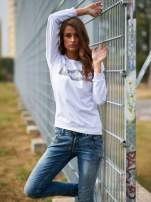 Biała bluza z napisem ARIGATO
