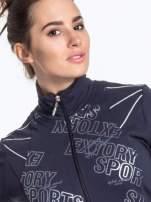 Ciemnoszara bluza sportowa z logo EXTORY