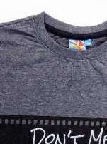 Ciemnoszary t-shirt męski LOONEY TUNES