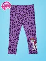 Fioletowe legginsy dla dziewczynki nadruk MY LITTLE PONY