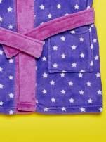 Fioletowy szlafrok dla dziewczynki FROZEN