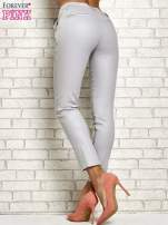 Srebrne brokatowe spodnie