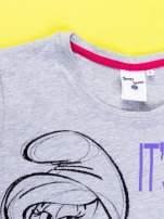 Szary t-shirt SMERFY