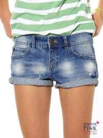 Szorty jeansowe