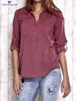 TOM TAILOR Różowa koszula w drobne wzory