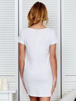 Koszula nocna bawełniana IT'S ABOUT STYLE biała                                  zdj.                                  2