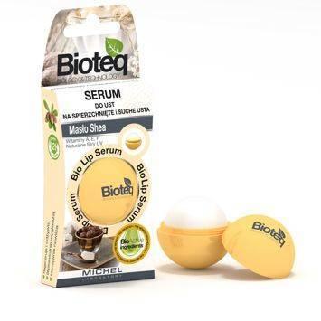 BIOTEQ Serum do ust Na Spierzchnięte i Suche usta Masło Shea 8,5 g