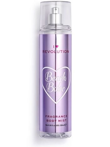 I ♥ Revolution Beach Babe Body Mist Perfumowana mgiełka do ciała kokosowa 236 ml