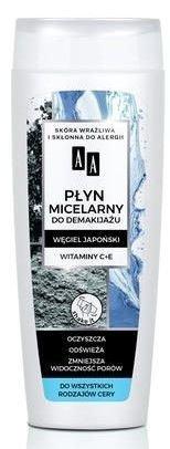 AA CARBON&CLAY Węglowy płyn micelarny 200 ml