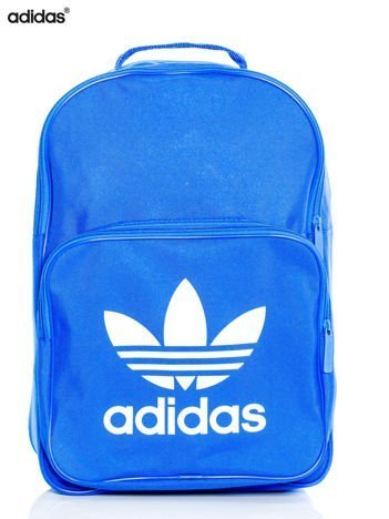 ADIDAS Niebieski usztywniany plecak BK6722 BP CLAS TREFOIL