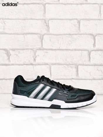 ADIDAS czarne buty męskie Essential Star 2 sportowe z siateczką