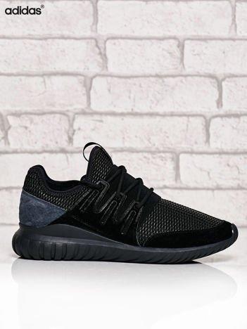 ADIDAS czarne buty męskie z plecioną membraną