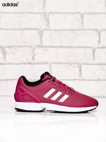 ADIDAS różowe buty ZX Flux K z fakturą w kropeczki