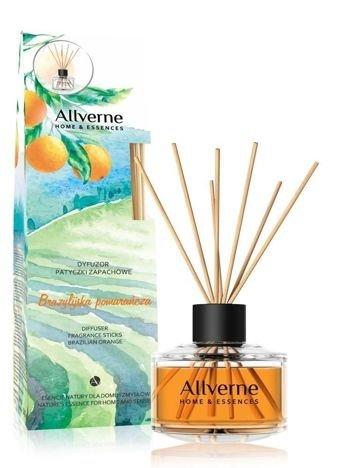 ALLVERNE HOME&ESSENCES Dyfuzor Patyczki zapachowe Brazylijska Pomarańcza 50 ml