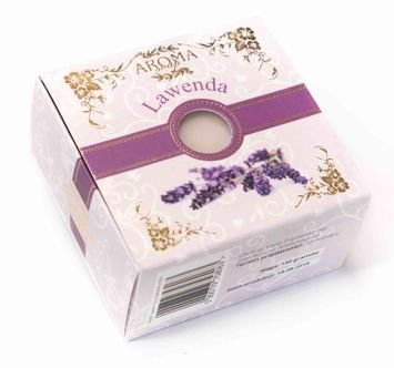AROMA Soap Naturalne mydło LAWENDA 150 g