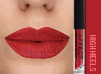 Affect Pomadka w płynie Liquid Lipstick Soft Matte High Heels 5 ml