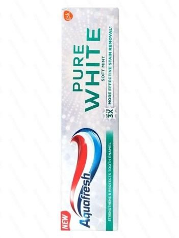 Aquafresh Pasta do zębów Pure White Soft Mint  75 ml