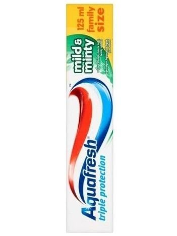 Aquafresh Pasta do zębów Triple Protection Mild & Minty 125 ml