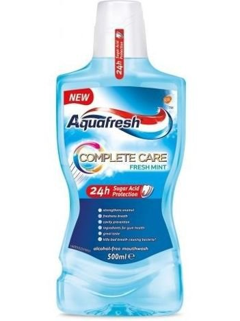 Aquafresh Płyn do płukania jamy ustnej Complete Care Fresh Mint  500 ml