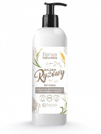 BARWA Naturalna Balsam ryżowy do ciała odżywczo-wygładzający 200 ml