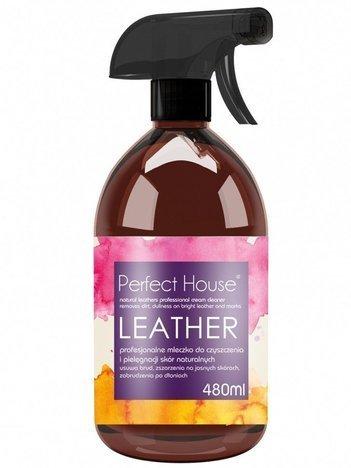 BARWA Perfect House Leather Profesjonalne Mleczko do czyszczenia skór naturalnych 500 ml