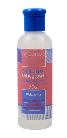 """BARWA Spirytus salicylowy kosmetyczny 70%  100ml"""""""