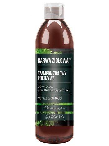 BARWA Ziołowa Szampon do włosów Pokrzywowy - włosy przetłuszczające się 250 ml
