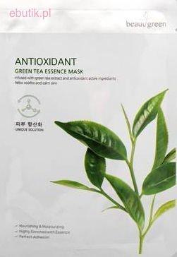 BEAUUGREEN Koreańska Maseczka Antyoksydacyjna z Zieloną Herbatą 23 g