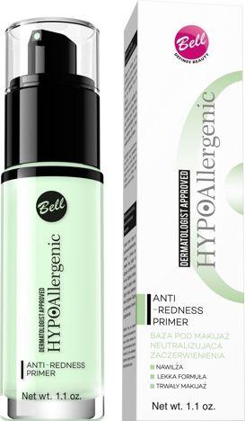BELL HYPOAllergenic Baza Neutralizująca Zaczerwienienia Anti-Redness Primer 30 ml