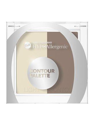 BELL HYPOAllergenic Contour Palette Paleta do konturowania twarzy