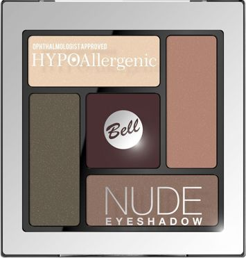 BELL HYPOallergenic Cienie Nude Eyeshadow 04