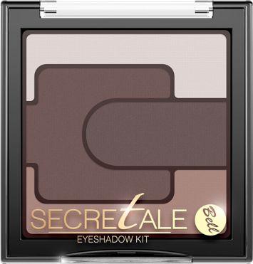 BELL Secretale Cienie Eyeshadow Kit 01