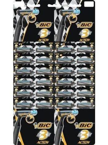 BIC Maszynka do golenia BIC 3 Action taśma 24 szt.