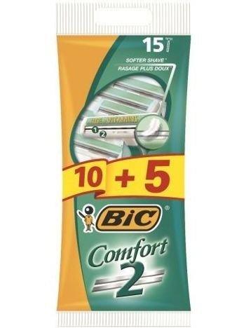 BIC Maszynka do golenia Comfort 2 Pouch 10+5 szt.