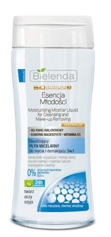 BIELENDA Biotech 7D Nawilżający płyn micelarny do mycia i demakijażu 3w1 200 ml