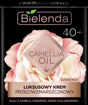 BIELENDA CAMELLIA OIL Luksusowy krem przeciwzmarszczkowy 40+ na dzień i na noc 50 ml